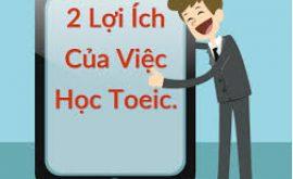 Học TOEIC để làm gì