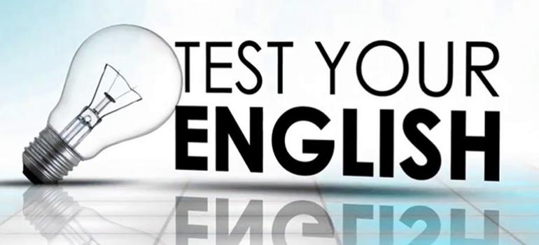 Kiểm tra trình độ tiếng Anh