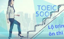 Lộ trình học Toeic 500