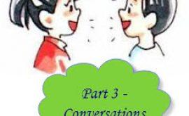 Luyện thi Toeic Part 3 - Homies TOEIC