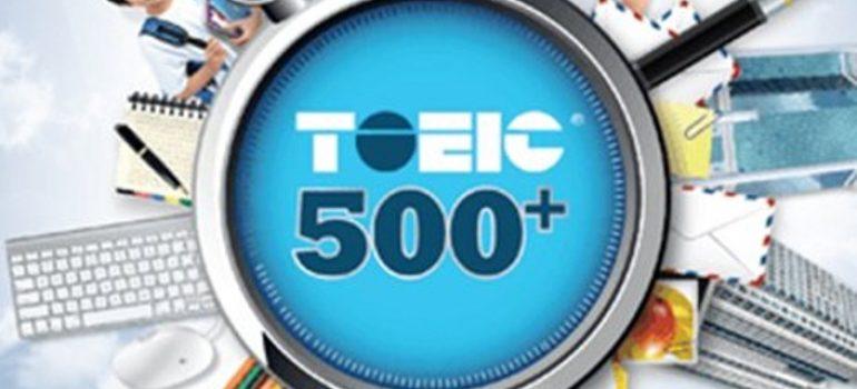 Khi nào học khóa học luyện thi Toeic 500 550 Cấp tốc?