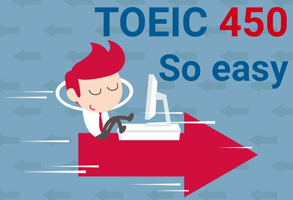 Thi Toeic 450 điểm rất dễ